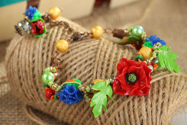Designer plastic bracelet photo 1