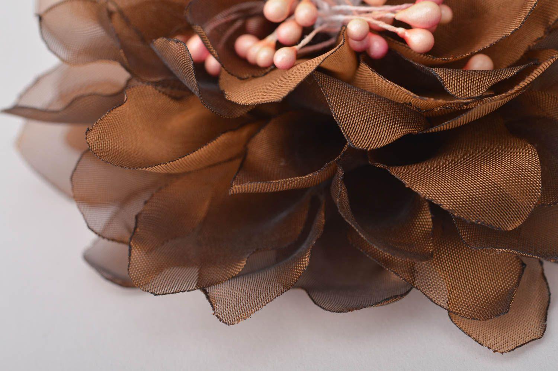 Handmade jewelry flower hair accessories flower brooch flower hair clip  photo 4