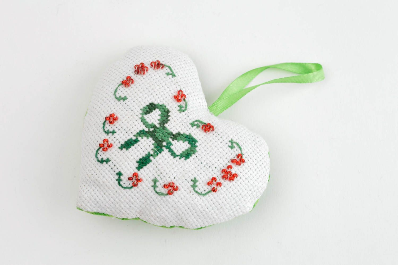 Handmade aromatized hanging unusual decorative pincushion designer soft toy  photo 3