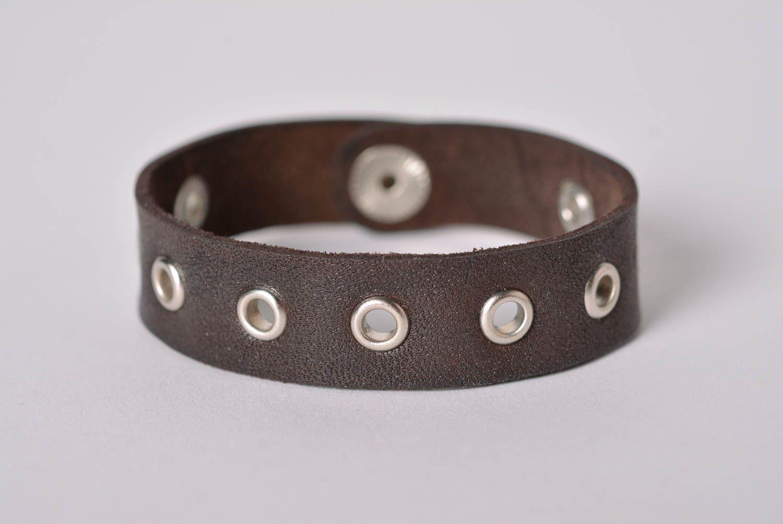 647be43d9e71 pulseras de cuero Pulsera original bonita hecha de cuero bisutería  artesanal regalo para mujer - MADEheart