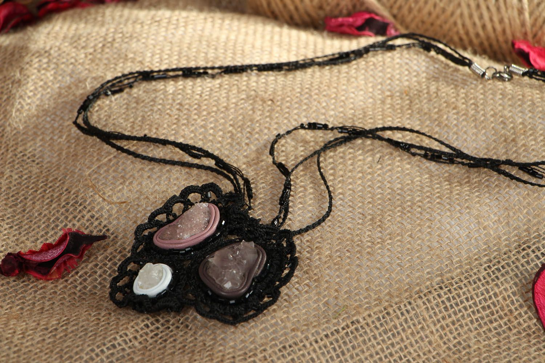 Beautiful pendant with amethyst photo 5