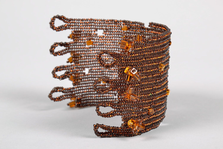 Beaded wrist bracelet photo 3