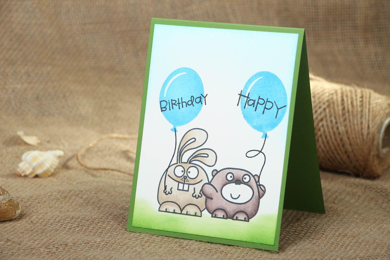 birthday Homemade greeting card Happy Birthday - MADEheart.com