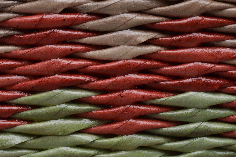 MADEHEART > Geflochtener handmade Deko Korb aus Papier Draht für ...