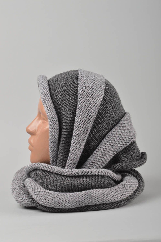 prendas para la cabeza Bufanda tejida hecha a mano caperuza ropa de mujer accesorio de moda