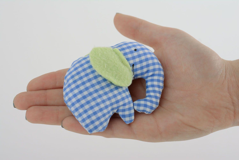 Homemade soft toy Elephant photo 4