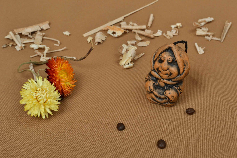 Handmade clay bell photo 5