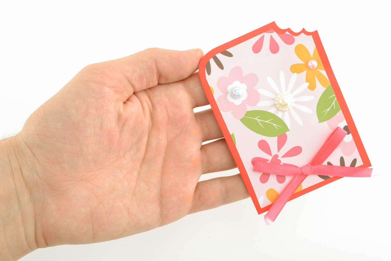 Unusual handmade greeting card photo 3
