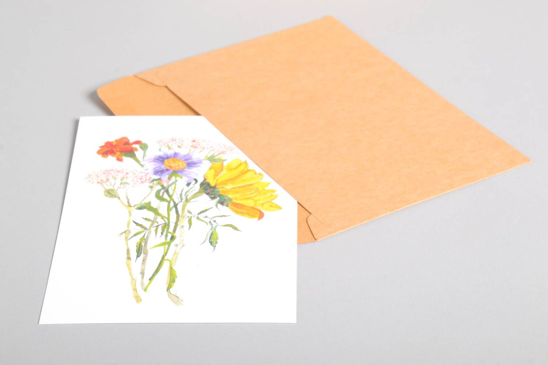 Handmade greeting card souvenir ideas designer postcard paper greeting card photo 4