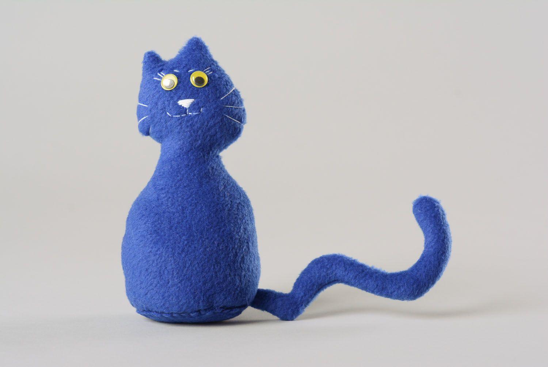 Textile toy Blue Cat photo 1