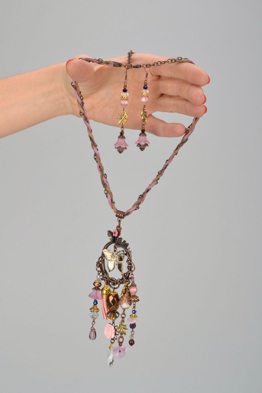 Set of handmade jewelry photo 2