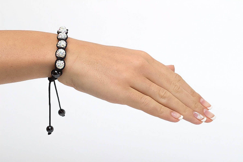 Handmade beaded bracelet summer bracelet designer jewelry stylish accessories photo 5