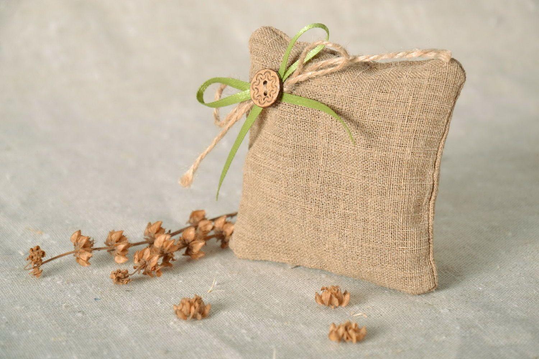Flax sachet with herbs photo 1