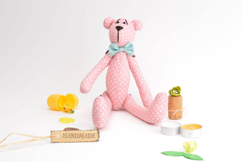 teddy bears Cute textile soft toy interesting unusual accessories lovely handmade bear - MADEheart.com