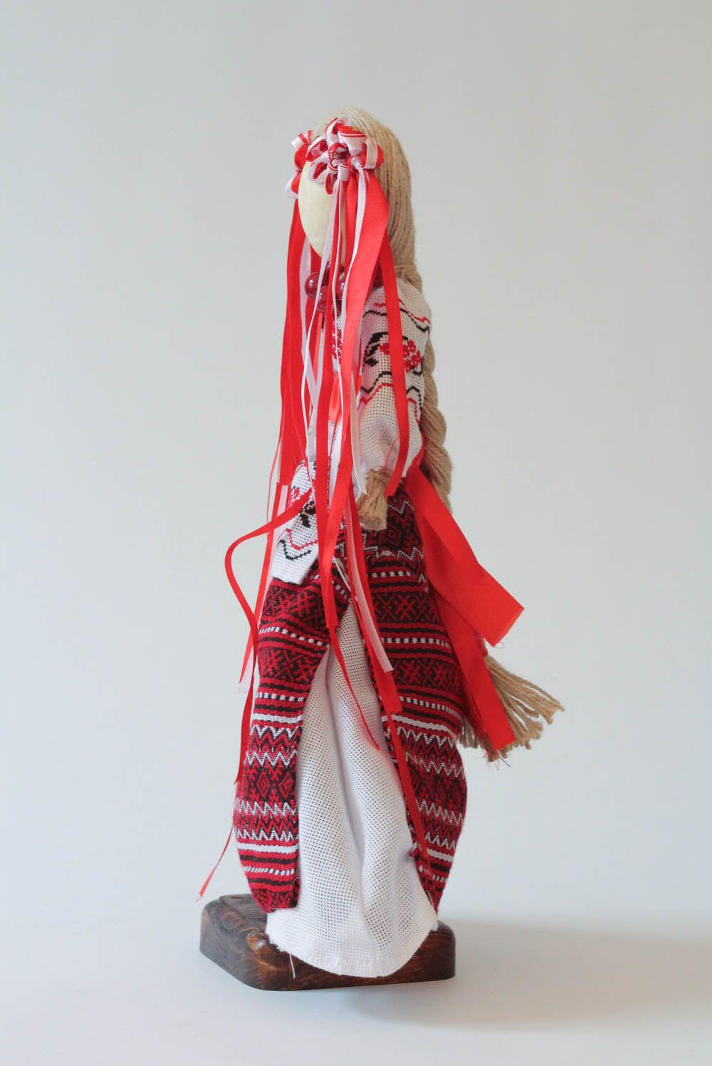 Handmade doll motanka Bereginya photo 3
