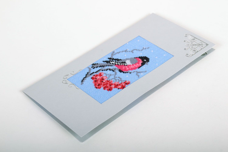 Designer card Bullfinch photo 2