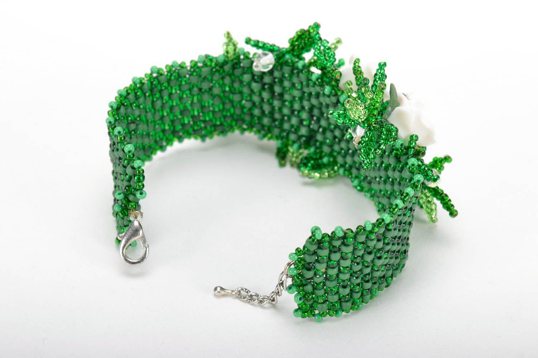 Bracelet made of Czech beads photo 3