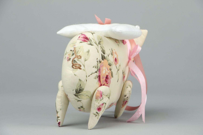 Soft toy Piggy-Angel photo 3