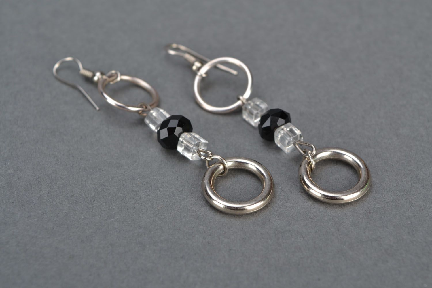 Unusual earrings Minimalism photo 4