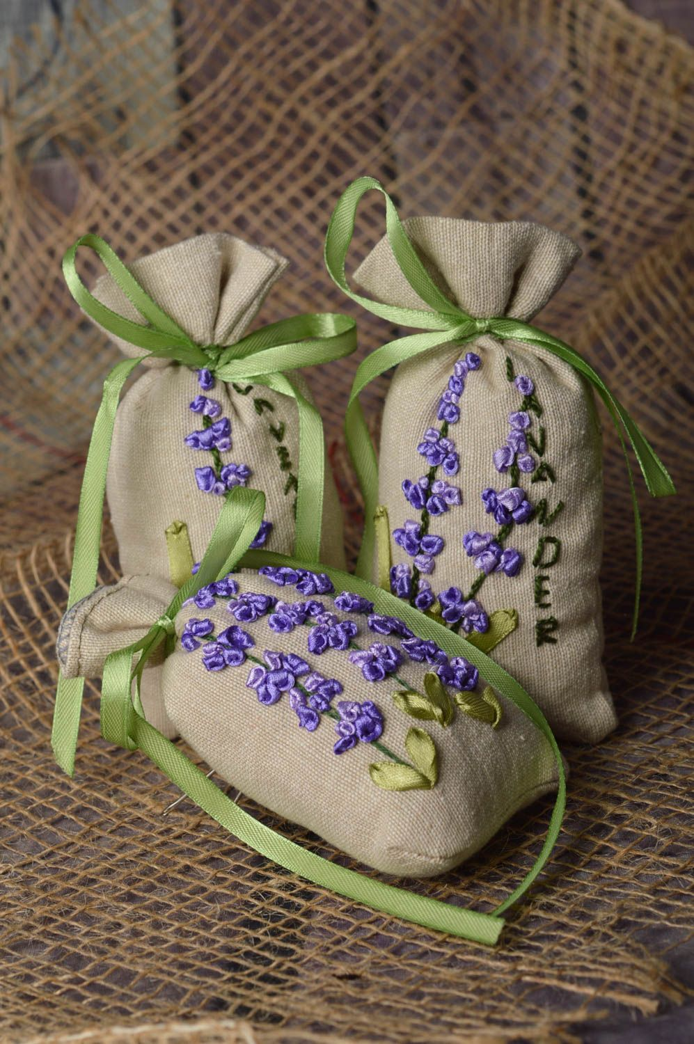 Handmade bags for aromatic sachets bags for gifts decorative use only photo 1