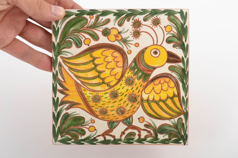 Madeheart azulejo cer mico decorativo artesanal pintado Pintar azulejos a mano