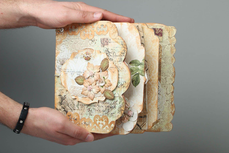 madeheart album scrap vintage fait main d cor design original pour photos cadeau. Black Bedroom Furniture Sets. Home Design Ideas