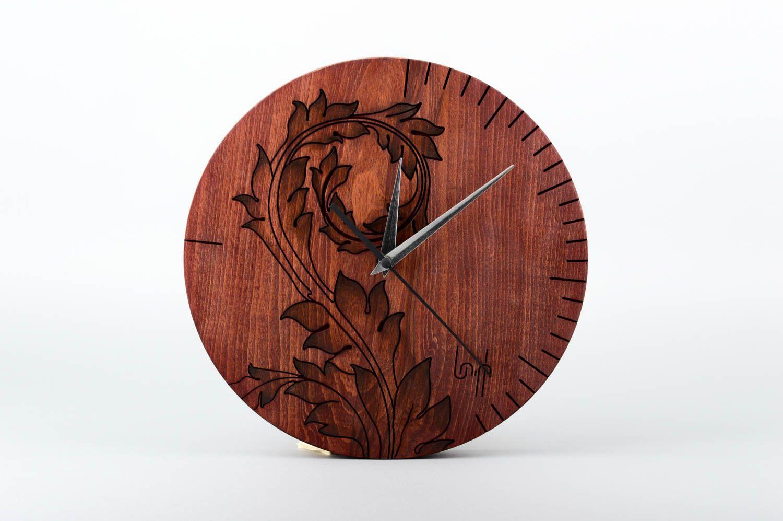 Madeheart reloj moderno de pared artesanal elemento - Relojes para casa ...