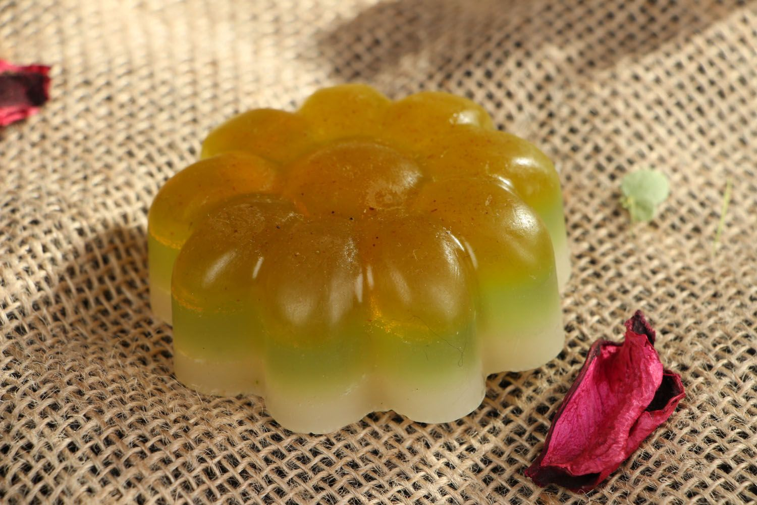 Homemade soap for all skin types Camomile photo 5