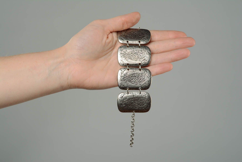 Metal Bracelet Two Falcons photo 3
