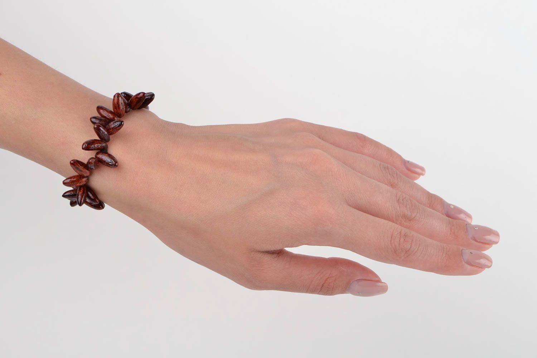 Handmade bracelet bead jewelry wooden jewelry bracelets for women unique jewelry photo 2