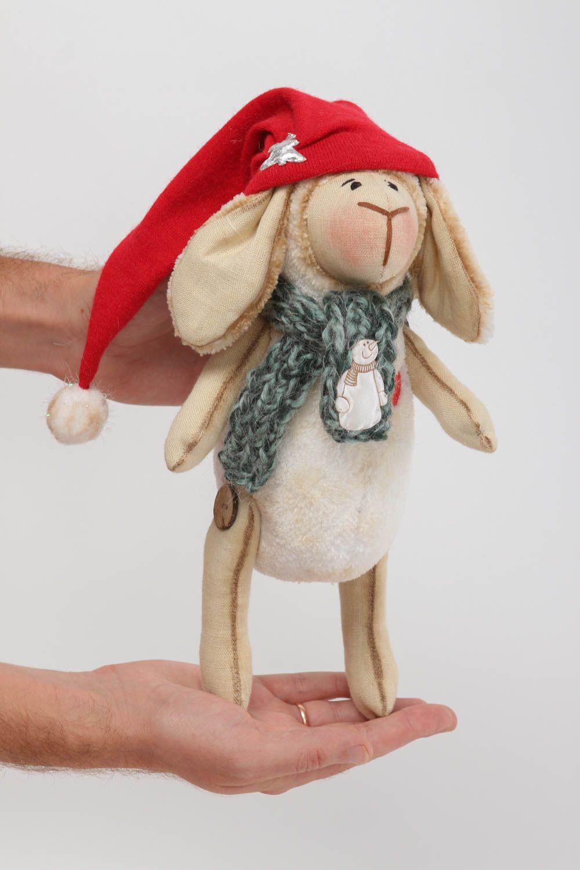 Handmade designer plush toy stylish interior decoration cute textile toy photo 5