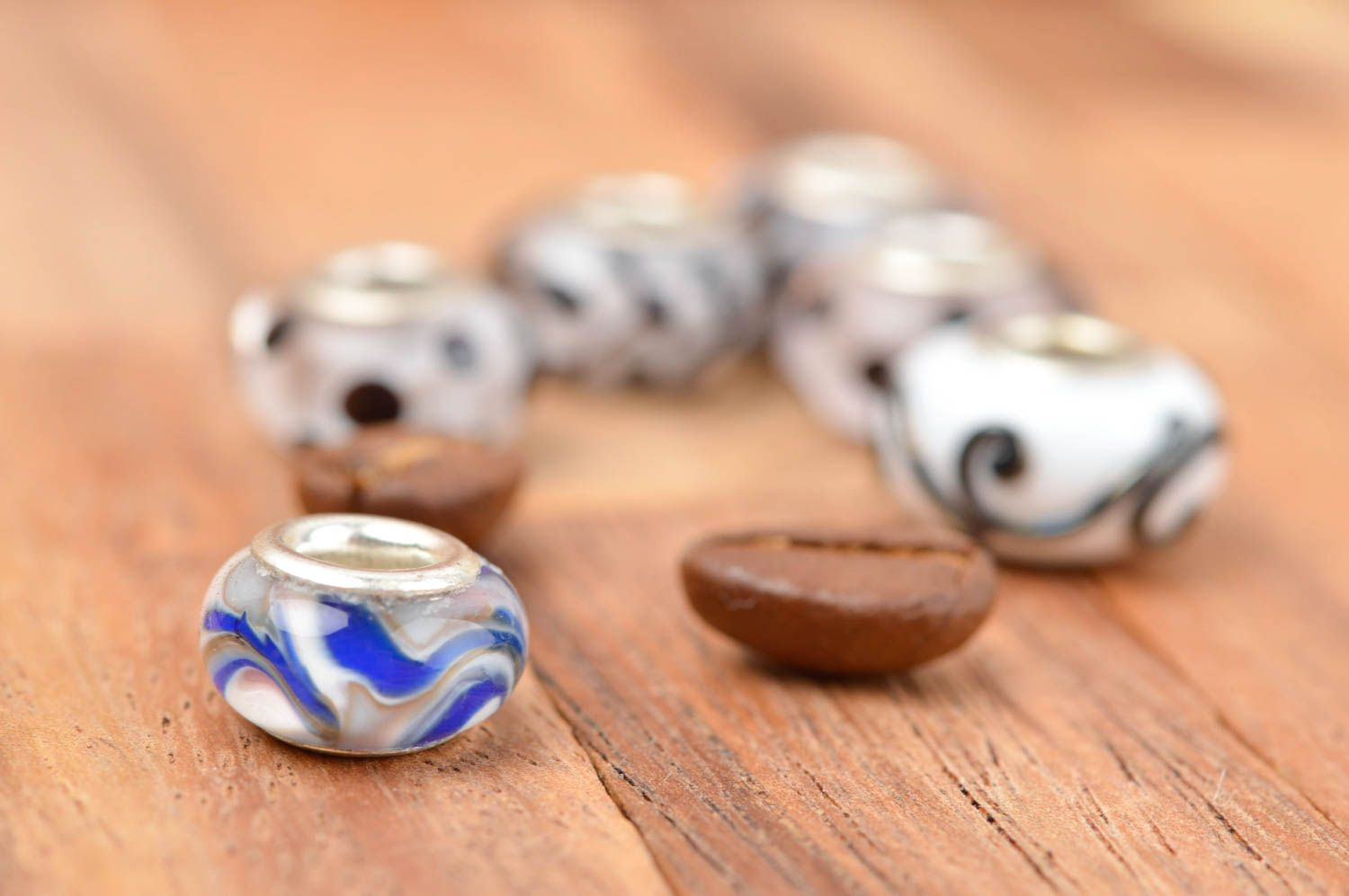 Handmade fittings beads fittings unusual beads fittings for accessories photo 2