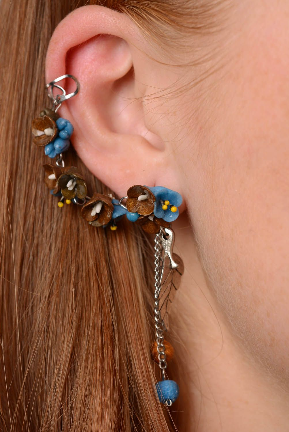 Earrings cuffs Forest Fairy Tales photo 3