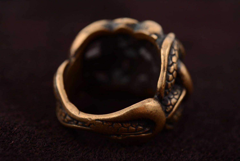Homemade bronze ring photo 5