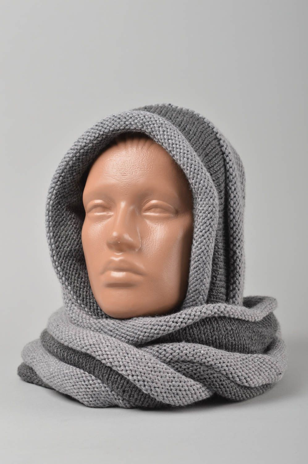 headwear Handmade scarf snood designer scarf snood unusual scarf warm scarf snood - MADEheart.com