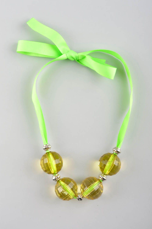 Bead necklace handmade jewelry designer necklaces for women ladies accessories photo 2