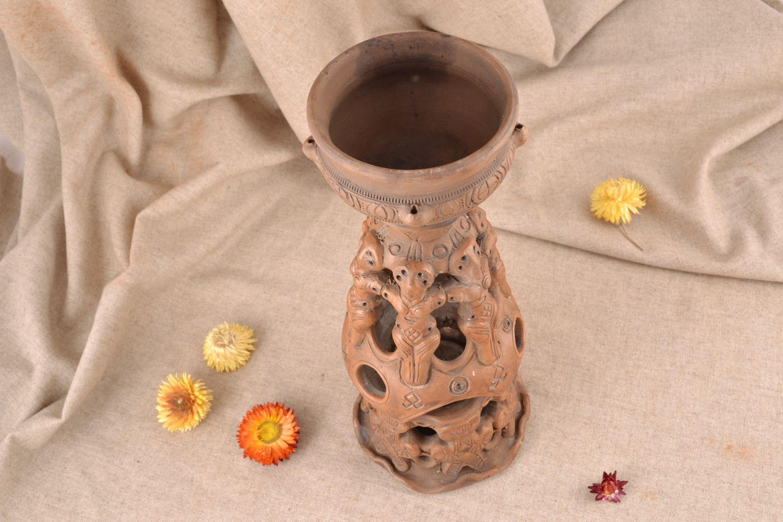 Handmade ceramic aroma lamp photo 1