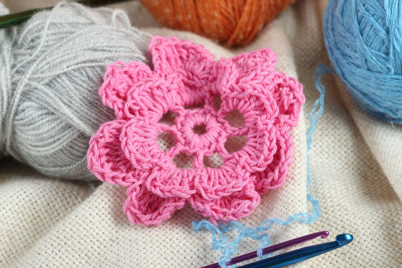 Handmade Blumen Häkeln Anleitung Blumen Häkeln Gehäkelte Blumen Anleitung Rosa