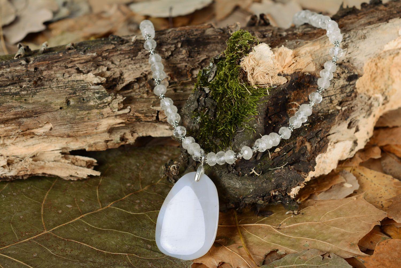 Gemstone necklace  photo 1