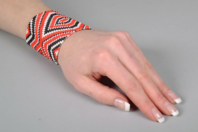 Модный браслет из бисера  фото 5