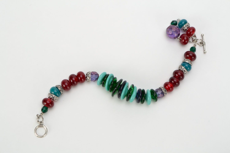 Festive glass bracelet photo 4