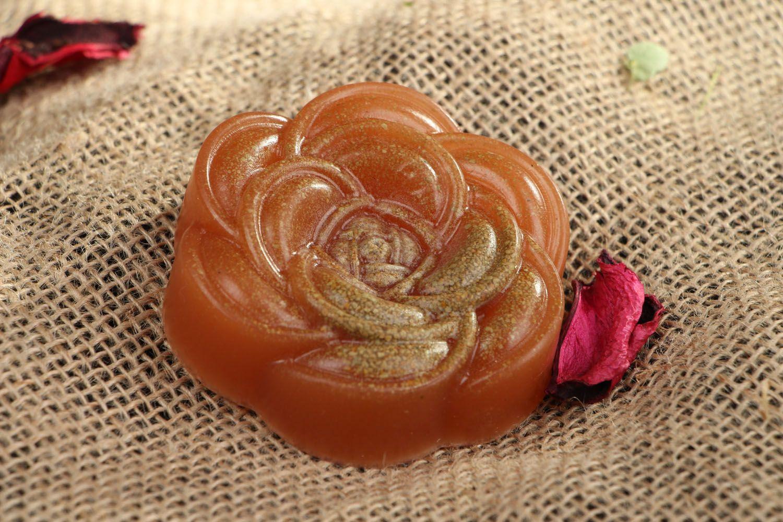 Natural soap Rose photo 4