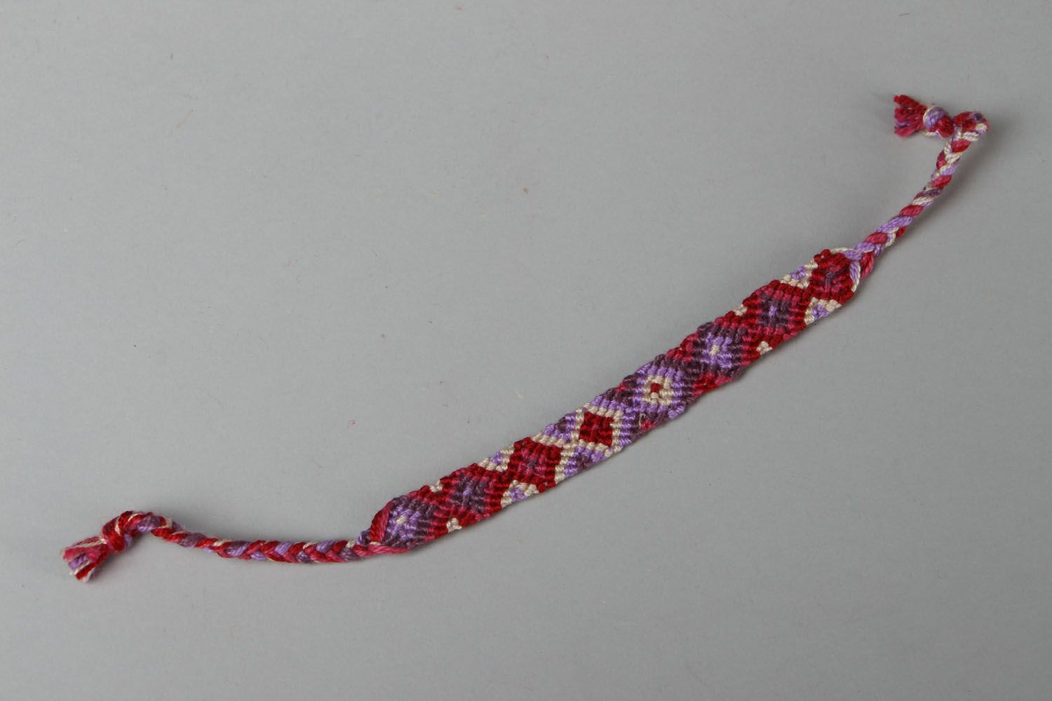 Friendship bracelet Geometry photo 1