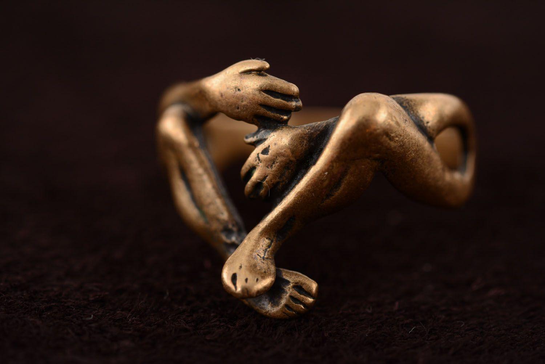 Кольцо из бронзы Вечность фото 5