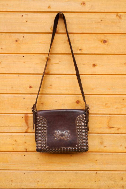 Men's Bags Handmade designer's leather bag - MADEheart.com