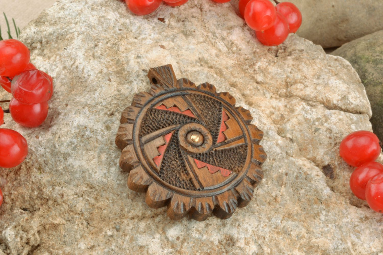 Деревянный крестик на шею купить