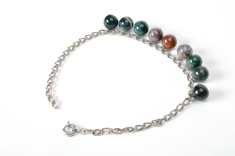 Jasper necklace  photo 3