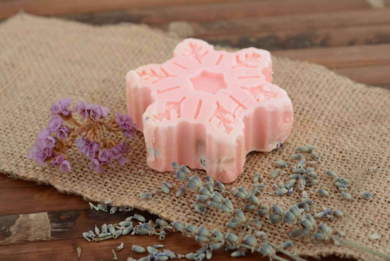 Natural soap with barberry photo 1
