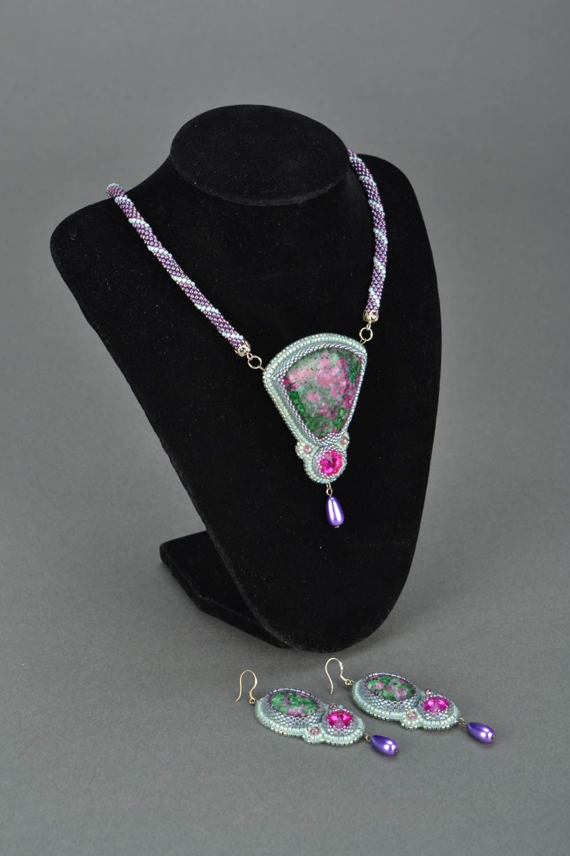Homemade jewelry set Sultana photo 1