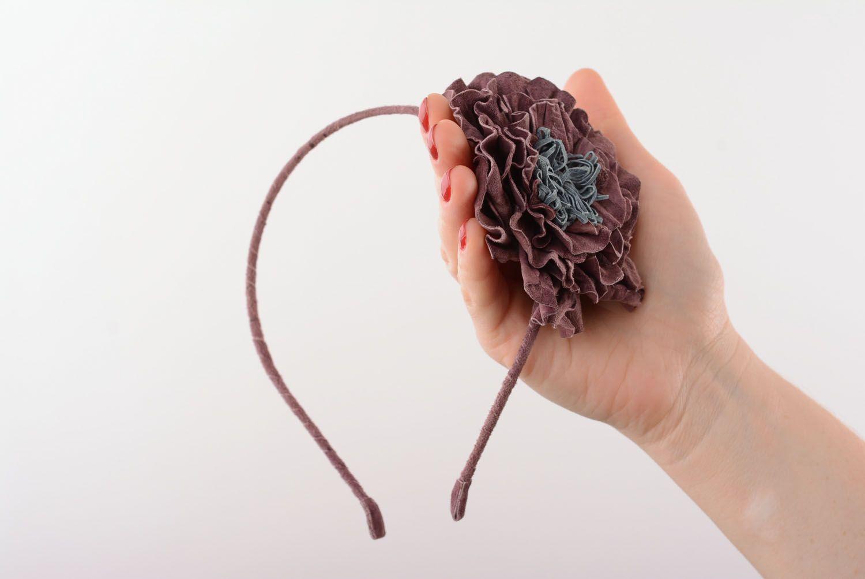 Headband with flower photo 1